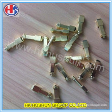 Supply Plug Pin with Brass, Made by CNC Machines (HS-BS-0036)