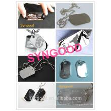 Routeur CNC Syngood Mini SG4040 / SG3040-special pour l'ouvre-bouteille à étiquette de chien en acier inoxydable