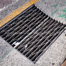 Hot DIP Galvanized Gully Grate Drainage Steel Grating Manhole Cover