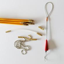 Tubo de plástico Kit de reparación de cinta de pescado