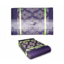 En vente violet couleur headtie africaine aso oke conception en stock pour la fête de mariage