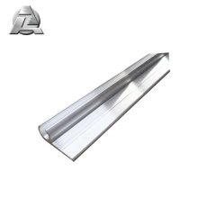 Profilé de rail en aluminium extrudé p de diamètre 50x18 10,5 mm pour tente keder