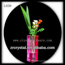Vaso de cristal agradável L039
