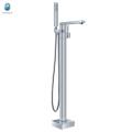 Cobuild new arrival chrome finish standing tub faucet bathtub floor mounted mixer tap