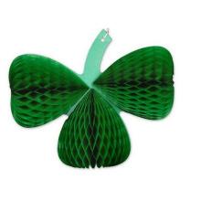 2015 nuevo diseño Honeycomb Fanburst decoración verde oscuro