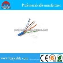 Cat5e LAN Cable de red Cable de fábrica Precio Shanghai Yiwu Factory Mejor Calidad CCA Cu