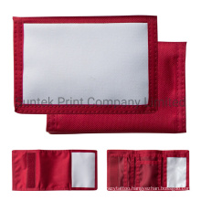 Red Sublimation Blank Small Wallet