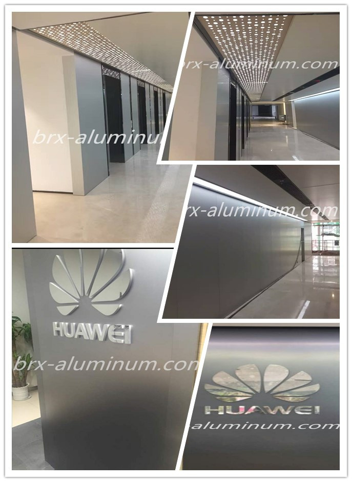 project experience of decorative aluminum sheet