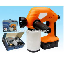 Cordless 18V recarregável elétrica portátil sem fio Mini pintura Gun pulverização máquina Ni-Cd bateria Powered pulverizador de mão