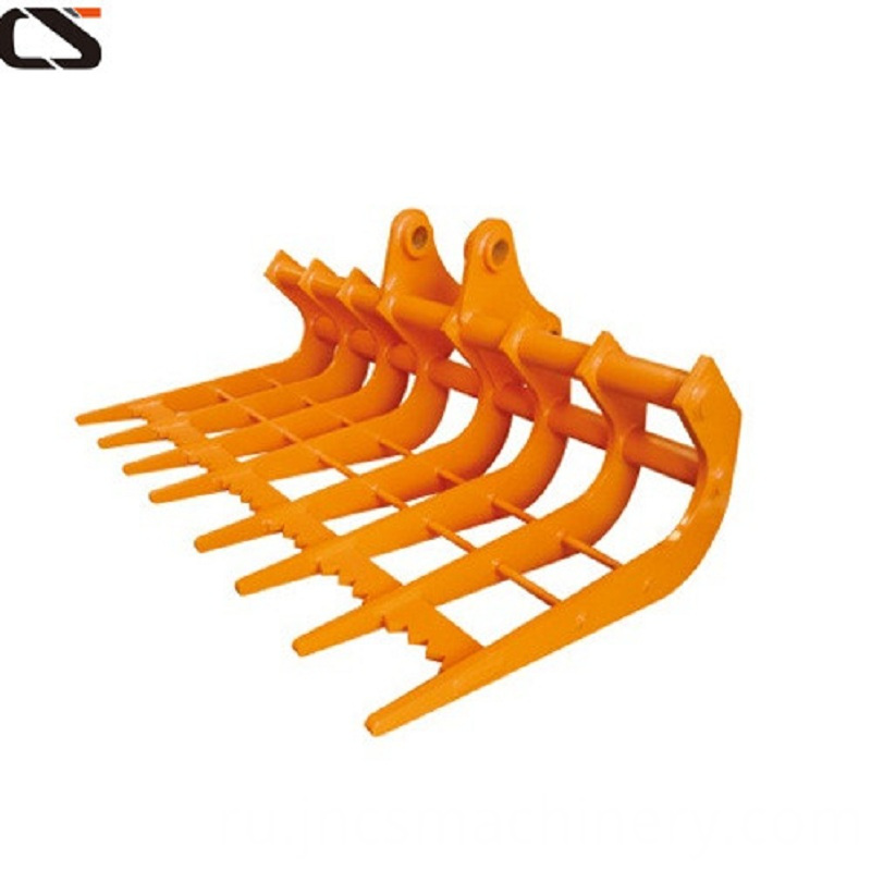 Rakes For Excavators And Backhoes