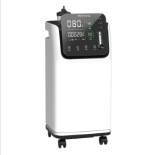 hospitals and homes 5L mobile oxygen machine portable  with double flows