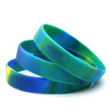 Wholesale Custom Volleyball Silicone Rubber Holograms Ball Bracelet