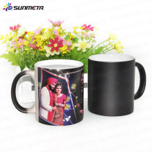11oz Sublimation Keramik Magic Foto Farbe ändern Becher