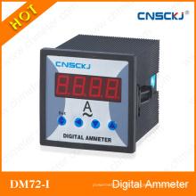 Amperímetros digitales monofásicos Dm72-I Comunicación RS 485 programable