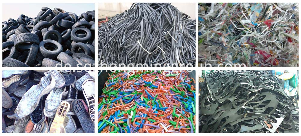 tyre recycling into fuel oil