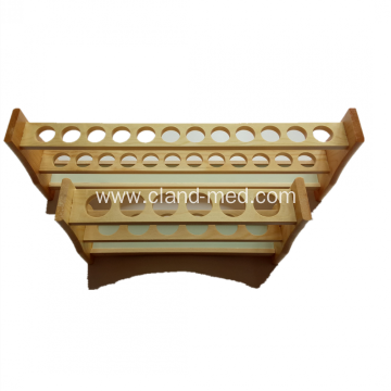 High-End Wooden Test Tube Rack Color Tube Rack