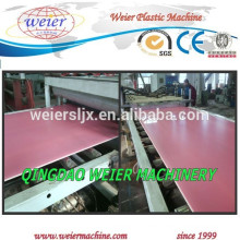 PVC-BLATT MASCHINE LINIE PVC-BOARD EXTRUDER