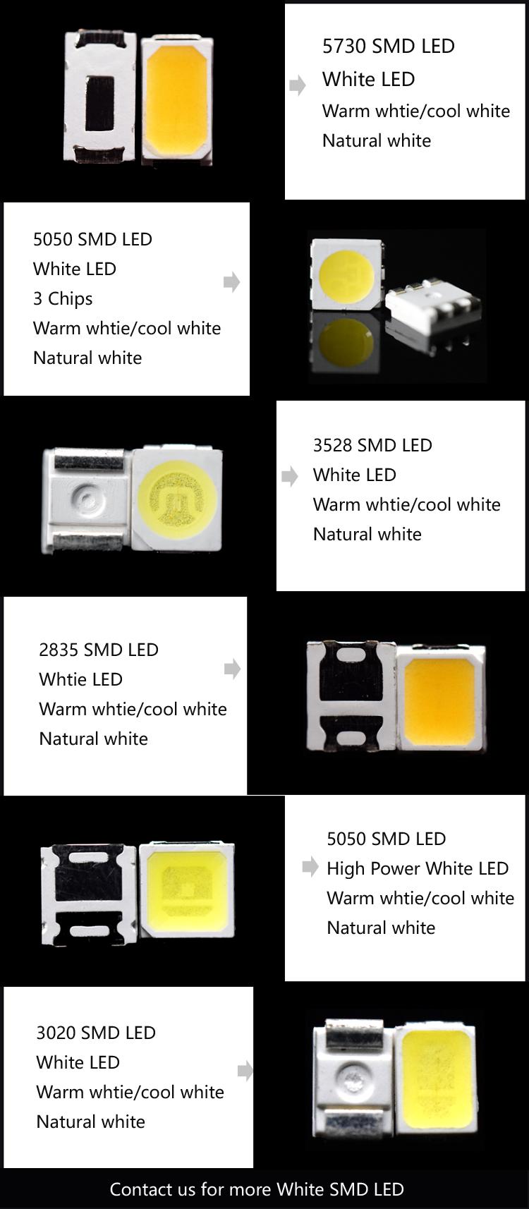 white SMD LED