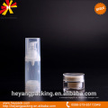 Transparente 30ml PP botella airless en stock