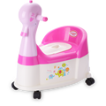 Duck Plastic Baby Potty Chair con ruota