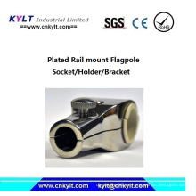 Aluminium-Druckguss-Fahnenmast-Steckdose