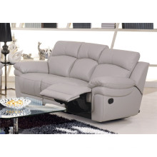 Canapé à encastrer électrique en cuir de chaise en cuir véritable (848)