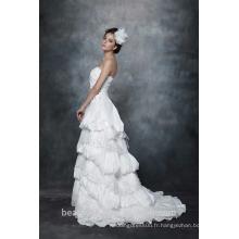 A-Line Straight Neck bretelles Robe de mariée Robe de mariée AS28702