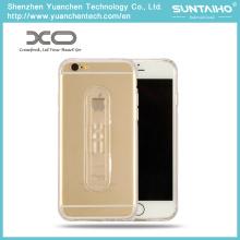 Titular ajustável Soft TPU Voltar Cover Phone Case para iPhone 6 iPhone 6 Plus