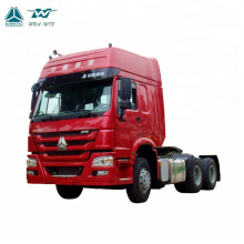 SINOTRUK 6x4 Horse Tractor Head 420hp HOWO Tractor Truck for RD Congo