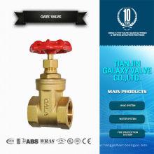 gate valve brass female connection