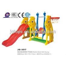 Hotsale Kids открытый пластиковый слайд для игрушек