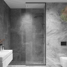 Seawin Modern Bathroom Cabin Room Stainless Steel Tempered Glass Shower Door