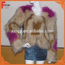 raccoon dog fur coat