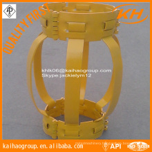 API 10D Weaved Double and Single Bow Casing Centralizer With Stop Collar