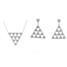 Le plus récent design pour les ensembles de bijoux en argent 925 en bois (S3318)