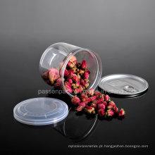 O armazenamento plástico do animal de estimação pode para o chá da flor (PPC-CSRN-025)