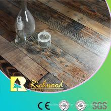Commercial 12.3mm E0 HDF AC3 Embossed V-Grooved Laminate Flooring
