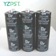 Condensador electrolítico de aluminio dual estándar 14000UF