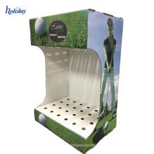 Support d'affichage gratuit de haute qualité de club de golf de carton de support