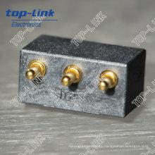 Clavija de contacto personalizada con muelle (conector de pino eléctrico)