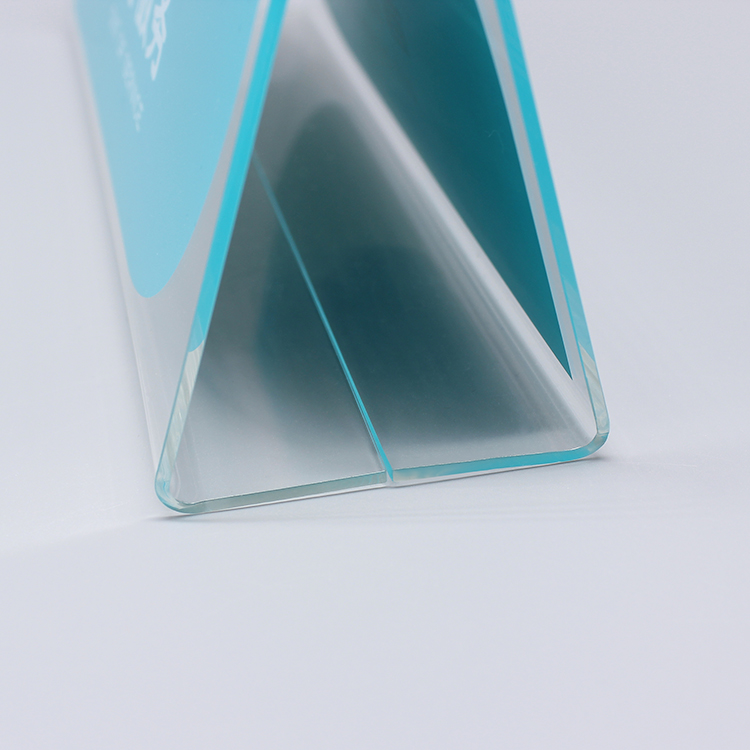 Horizontal Acrylic Sign Holder