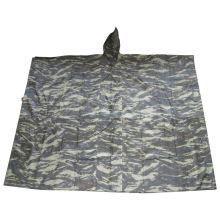 Camouflage Regen Poncho