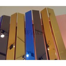 Edelstahl für verschiedene Farben