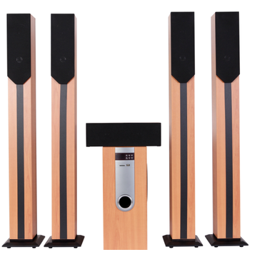 Powerful 5.1CH home theater speaker system