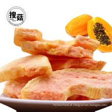 O saco da garra do saquinho do ISO de Papaia liofilizada lasca petiscos da fruta