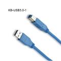 USB 3.0 Kabel Typ A Stecker auf Typ B Stecker