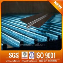 Aluminum heat transfer plates for water or electric floor heating systerm