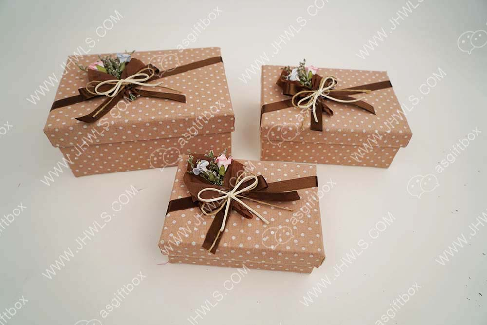 Paper bouquet gift box