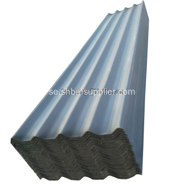 Non-formaldehyde Färgglada PET Film MgO Corrugated Sheets