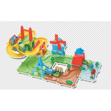 Trains Set Blocks Games Toy